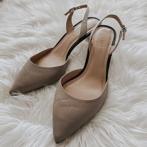 Talbots Sling-Back Kitten Heels 8 1/2M